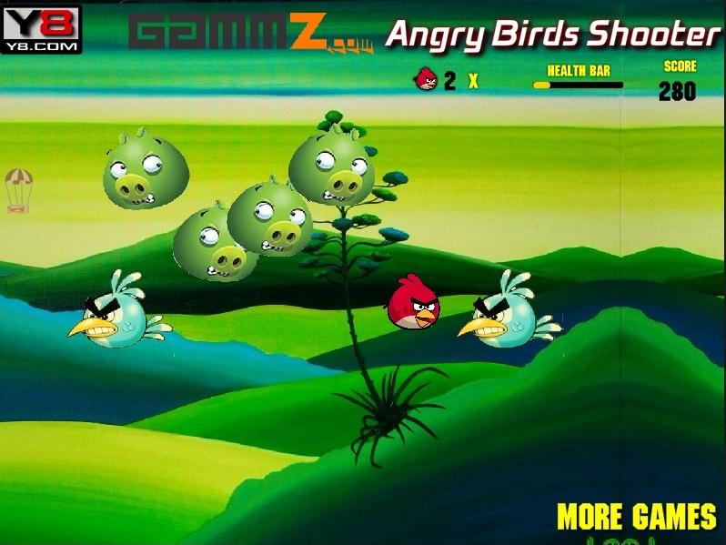 Злые птички атакуют