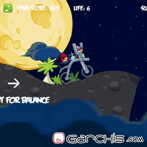 Злые птицы Космический велосипед