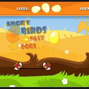 Злые птицы спасатели яиц