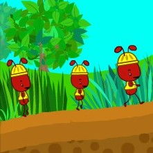 Ни Хао Кай-Лан и муравьи