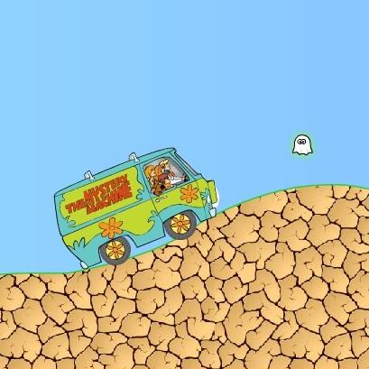 Поездка на авто Скуби-Ду и друзей