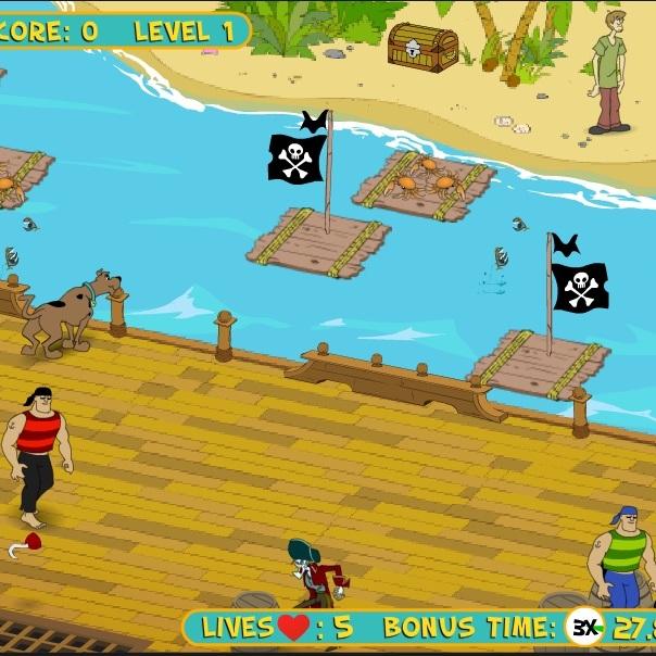 Скуби-Ду уйти от пиратов