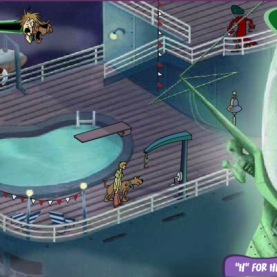 Приключения на корабле Скуби-Ду