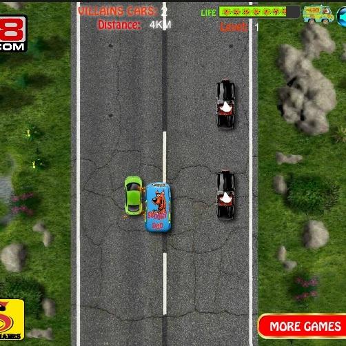 Скуби-Ду погоня на автомобиле