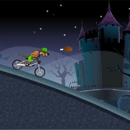 Скуби-Ду ночной велогонщик