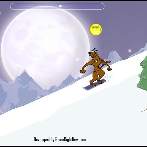 Скуби-Ду сноубордист