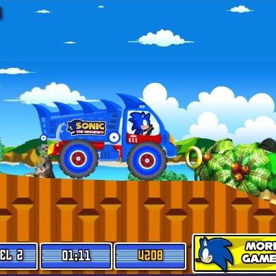 Экстримальный грузовик Соника
