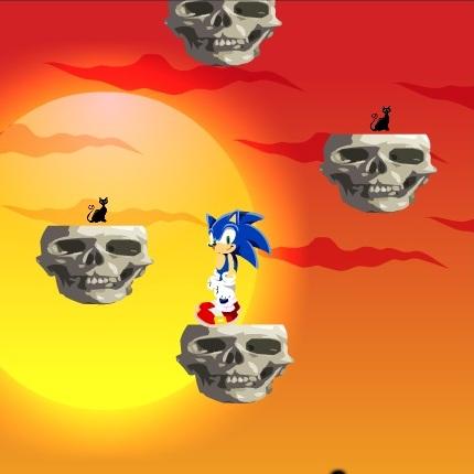 Соник на хеллоуине