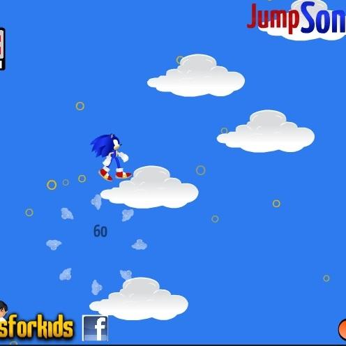 Прыжки по облакам Соника