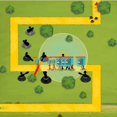 Башни Человек из палочек