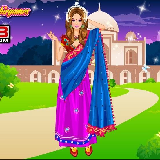 Барби в Индийской сари