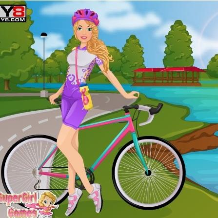 Велосепедистка Барби