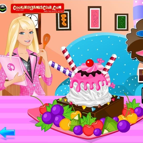 Барби любительница мороженого