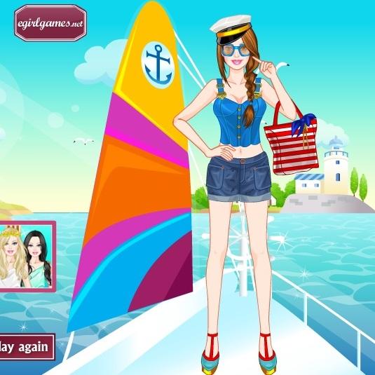 Барби на морской прогулке