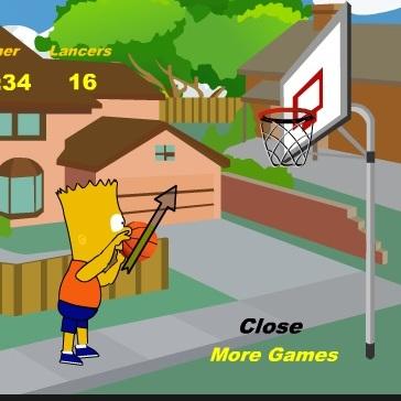 Баскетболист Барт Симпсон