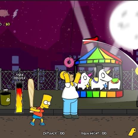 Симпсоны полет Гомера