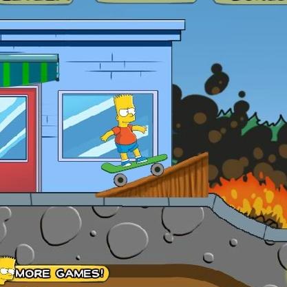 Симпсоны Барт скейтбордист - Симпсоны
