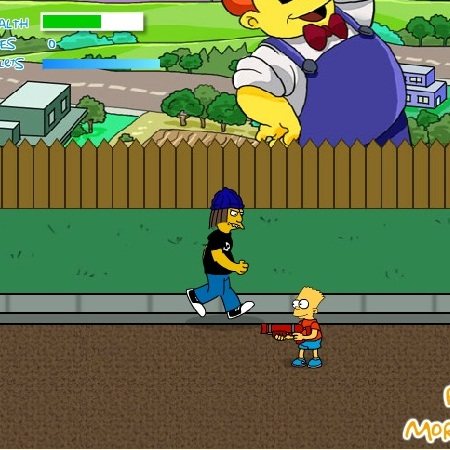 Барт Симпсон стрелок