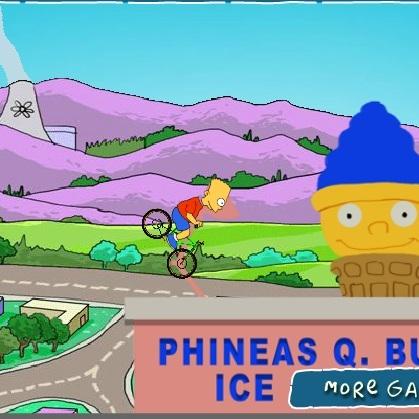 Барт Симпсон трюки на велосипеде - Симпсоны