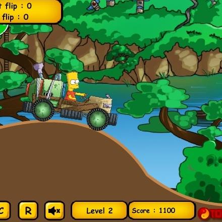 Симпсоны самодельное авто Барта - Симпсоны