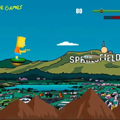 Барт Симпсон летающий стрелок