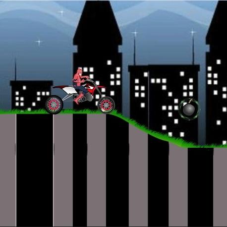 Человек-паук гонка по ночному городу