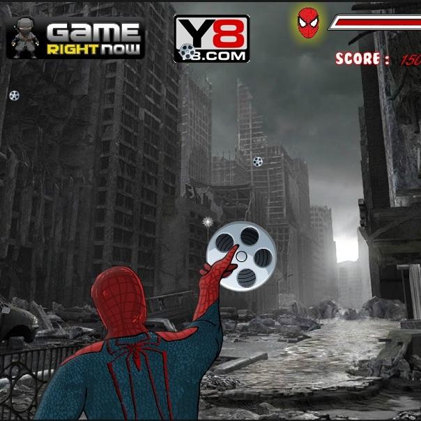 Помоги Человеку-пауку в Нью-Йорке