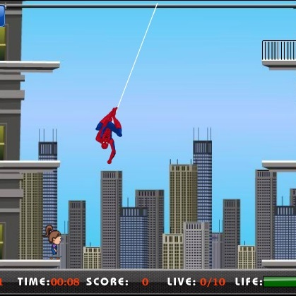 Спасатель Человек-паук
