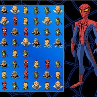 Человек-паук три в ряд - Человек-паук