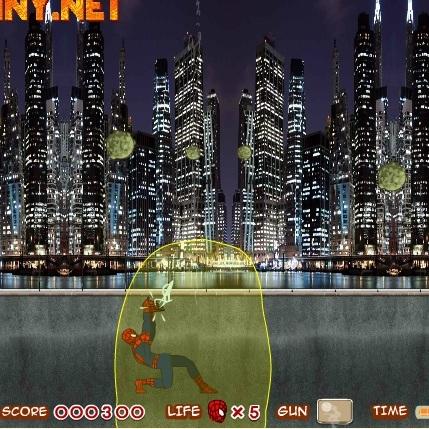 Человек-паук разбей метеорит