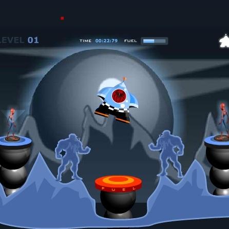 Человек-паук посади НЛО
