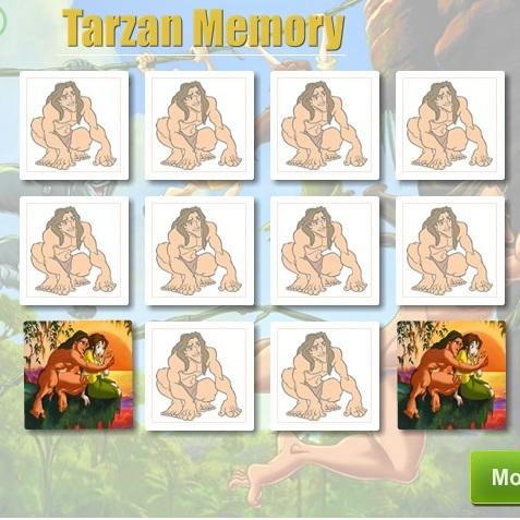 Тарзан тренируем память