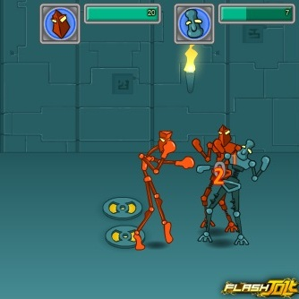 Робот боец