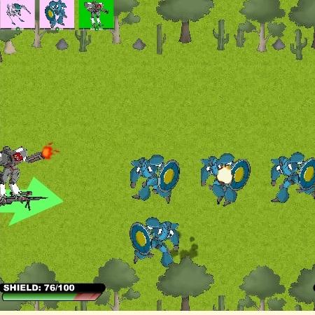 Война Роботов - Роботы