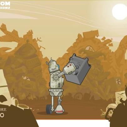 Робот мусорозборщик - Роботы