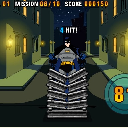Мощный удар Бэтмен