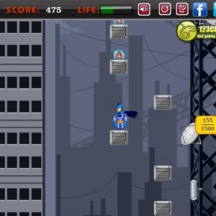 Бэтмен прыгает выше и выше