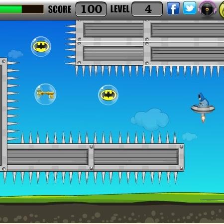 Бэтмен на летающей тарелке