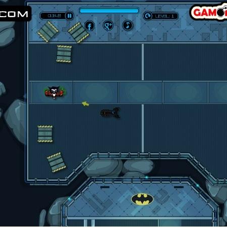 Бєтмен на бєтмобиле - Бэтмен