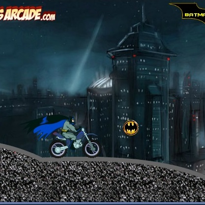 Бэтмен супер байкер
