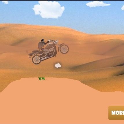 Бэтмен гонка в пустыне