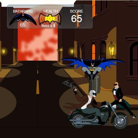 Борьба Бэтмена с злодеями