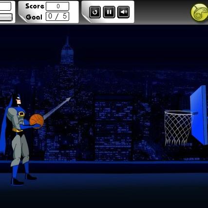 Бэтмен любитель баскетбола