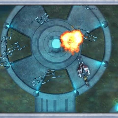 Звёздные Войны подводный бой - Звёздные Войны