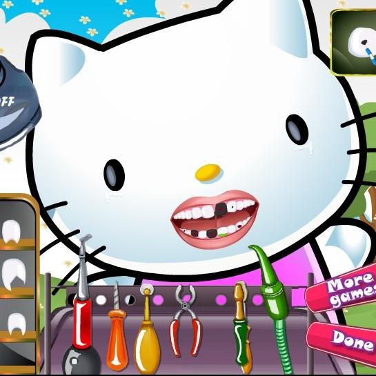 Хелло Китти у дантиста