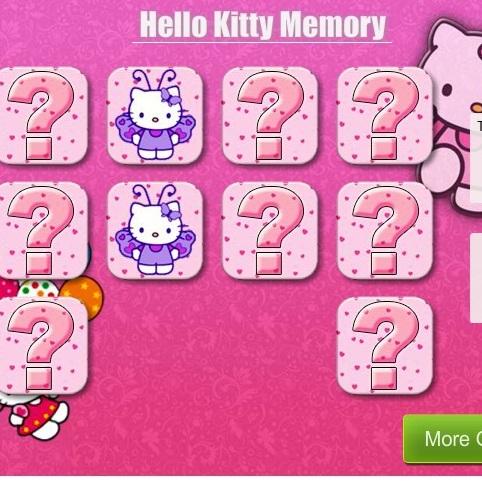 Тренируем память с Хелло Китти