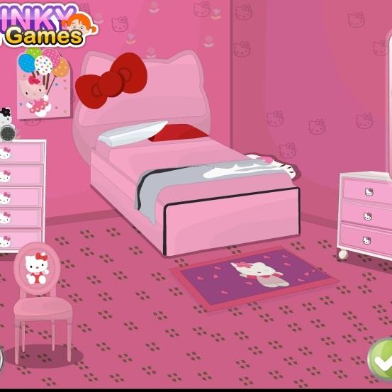 Розовая спальная Хелло Китти