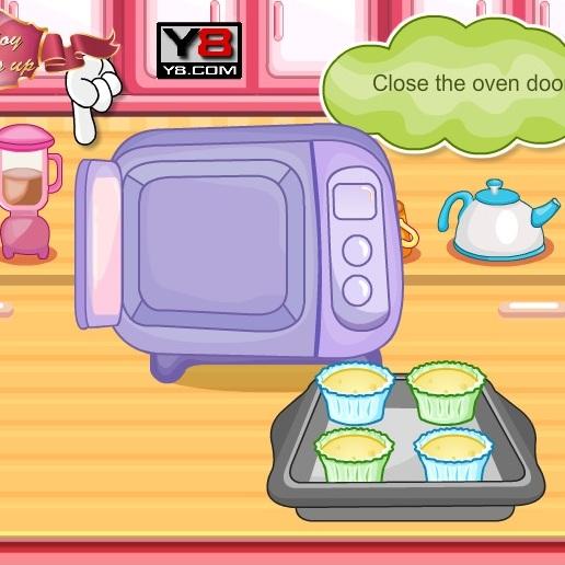 Хелло Китти готовим кексы