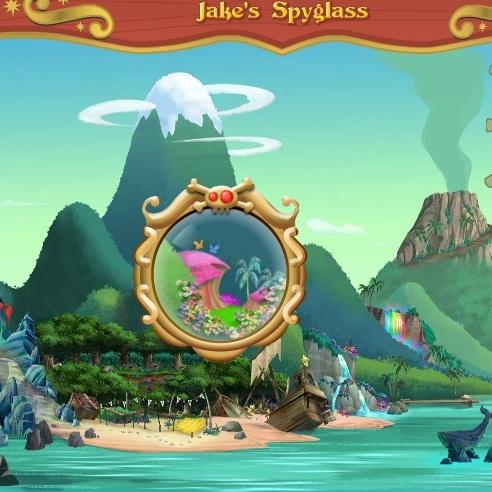 Джейк пират ищет сокровища