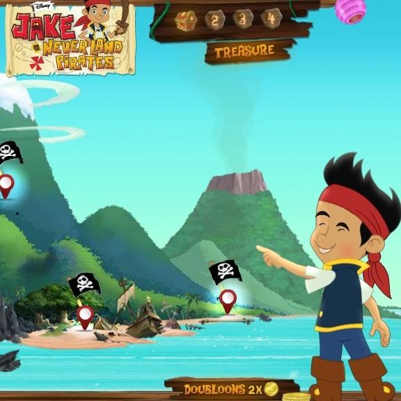 Джейк и пиратский остров
